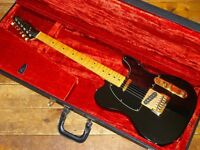 Fender USA Black and Gold Limited Edition Telecaster 1981