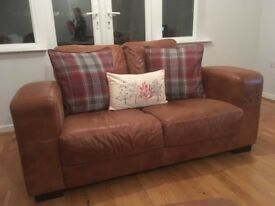 Beautiful Leather Sofas in Immaculate Condition
