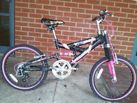 "Girl's ""Trance Magna"" 18"" Mountain Bike"