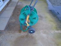 Hozelok Garden Hose on Mobile Reel / Trolley