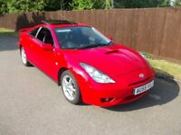 REDUCED Toyota Celica 1.8 VVTi 140 Premium / Style Pack + Wheel Set