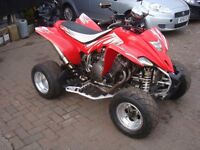 Suzuki super bike quad bike raptor