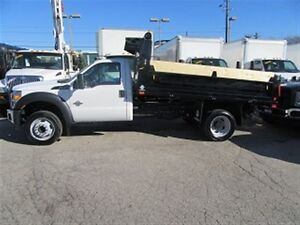 2016 Ford F-550 2wd diesel with new 12 ft dump