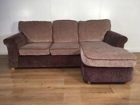 Very Nice brown corner sofa with free delivery within 10 miles