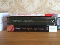 Law books for sale!! Extremely good condition