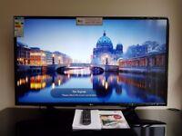 LG 43UH620V 43 Inch SMART 4K Ultra HD HDR LED TV Freeview HD Freesat HD WiFi