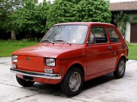 FIAT 126 retro classic smart car 1970's