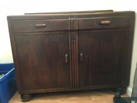 Wooden Sideboard circa 1950s?