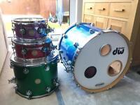 DW Collectors Series Drum Kit Jelly Bean Sparkle