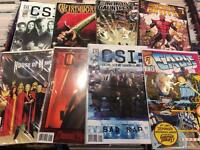 Complete comic books sets mini series CSI cable House of M Infinity Gauntlet Entity