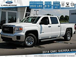 2014 GMC Sierra 1500 **4X4*AUTOMATIQUE*6 PASSAGERS*CRUISE*A/C**