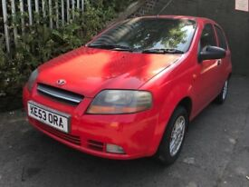 Daewoo Kalos 2003 1.2 Petrol Red 5dr - Breaking For Spares
