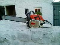 "Stihl Woodboss 028av chainsaw in vgc & full working order with Oregon 18"" bar & chain"