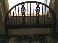 Carved double headboard LAST CHANCE COLLECTION BY 21 JULY