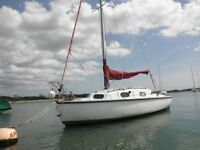 sailing boat and private mooring for sale chichester harbour