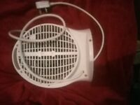 Brand new electric fan heats and cools excellent condition