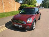 2008 1.4 Mini One, Red, Facelift Model R56, Automatic, Petrol, 3-Door, In Good Condition Throughout!