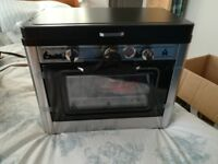 New Camp Chef Camping Outdoor Oven with 2 Burner Stove perfect for Campervan / Motorhome / Caravan