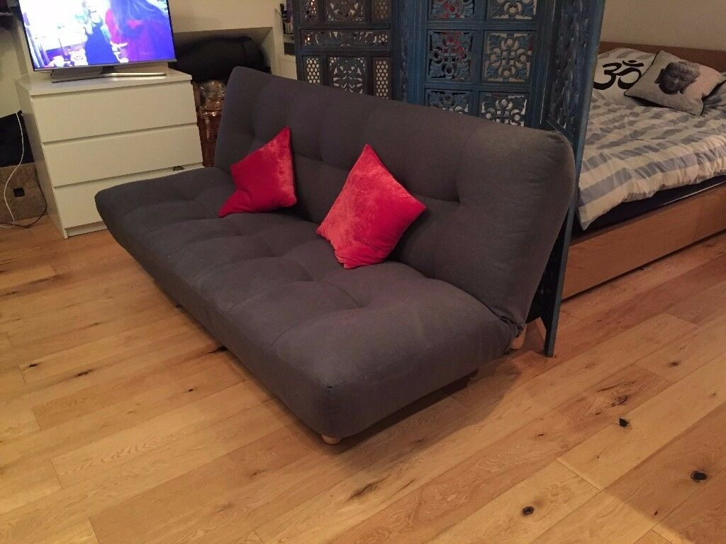 Habitat Sofa Bed - Charcoal - Perfect condition