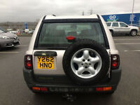 LAND ROVER FREELANDER 2001 - 1.8ES - LOW MILEAGE - MOT -HEATED LEATHER - GLASS ROOF