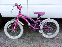 """GIRLS 16"""" WHEEL APOLLO POPSTAR BIKE CLEAN COND FULLY SERVICED READY TO GO"""