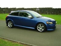 2009 VOLVO C30 1.6 R DESIGN ONLY 71000 MILES F.S.H FINANCE AVALIABLE