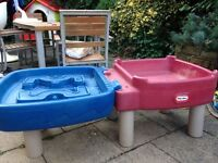 Little tikes water and sand tray