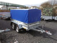 New Trailer 7.7 x 4.2 twin axle cover free £1000 inc VAT