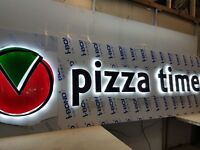 Restaurant or Shop Sign Made To Measure Dibond Cut 3d Fully Fitted