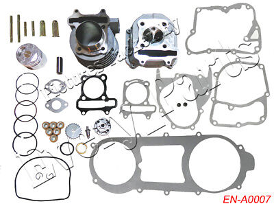 Engine Rebuild Kit Cylinder Engine Head Scooter for GY6 125 150cc 157QMJ Chinese 150 Cc Cylinder Head