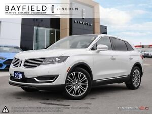 2016 Lincoln MKX Reserve |AWD|TECH PKG|DRIVER ASSIST PKG|CLIM...