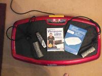 Vibrapower Slim Used KeepFit ( keep fit ) Health Fitness ABS - not treadmill