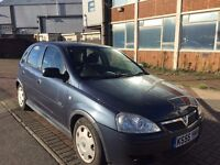 2006 Vauxhall Corsa 1.2 i 16v Design 5dr (a/c) ideal for first timer, long mot, run very smooth,