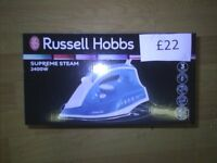 RUSSELL HOBBS SUPREME STEAM , BRAND NEW STEAM IRON, CAN DELIVER LOCALLY
