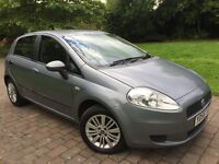 2006 Fiat Grande Punto 1.2 Dynamic cheap to run and insure ideal first car Alloy wheels