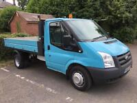 Ford transit tipper 2010 60 reg 115 6 speed t330s ltd rwd no vat