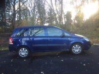 Vauxhall Zafira Life 1.6 petrol 7 seater: 2008 towbar and roof rack
