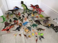 Huge dinosaur collection (60 in total) - £30