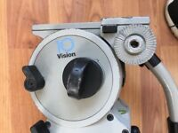 Vinten Vision 10 LF Tripod Professional Fluid Head - similar as Miller, Manfrotto, Red, Sony, Arri