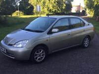 Toyota prius hybrid ELECTRIC auto mot June 2019 £20 road tax