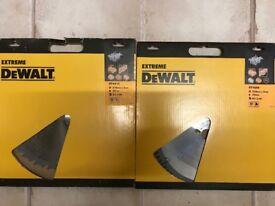 DEWALT DT4215 & DT4289 315mm TABLE MITRE SAW BLADES