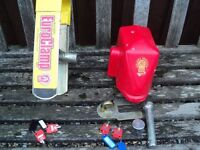 caravan bulldog euro clamp wheel lock and bulldog hitch lock both come with two sets of keys