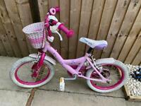 Girls bike age 6-8 Free DE23 area