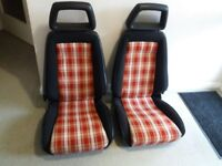 Ford Capri MK3 3.0S Recaro Fishnet Seats