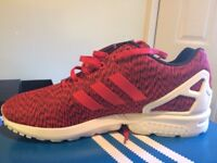 Adidas mens ZX Flux Trainers, size 9 1/2 (UK)