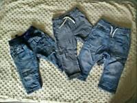 Baby boy NEXT jeans 6-9 months