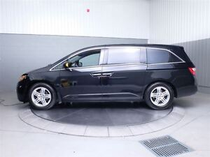 2011 Honda Odyssey TOURING A/C MAGS TOIT CUIR NAVIGATION TV/DVD  West Island Greater Montréal image 13