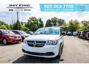 2016 Dodge Grand Caravan CANADA VALUE PKG, BLUETOOTH, A/C, REAR