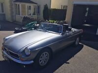 MG/ MGB ROADSTER 1972 LEATHER TRIM, MINILITE WHEELS, OVERDRIVE STUNNING ROADSTER