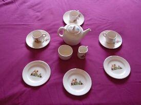 Vintage Disney Beswick Childs Tea Set